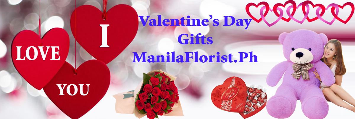 Valentines day gifts to Manila Philippines