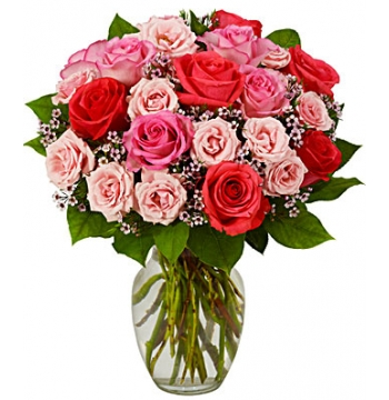 24 Sweetest Rose Bouquet Pink Send to Manila Philippines