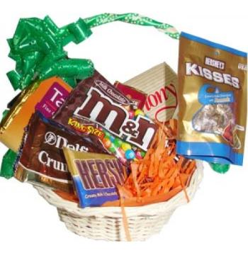 Basket of full chocolates Online Order to Manila Philippines