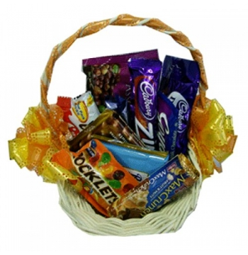 Assorted Chocolate Lover Basket