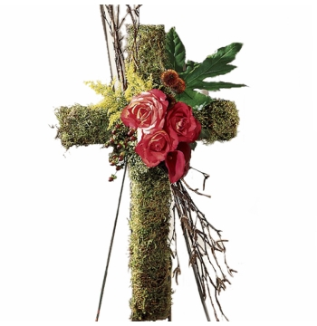 A Thoughtful Tribute-Funeral Sympathy Cross Send to Manila Philippines