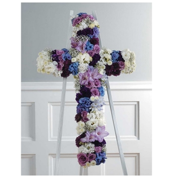 Sympathy Funeral Cross Send to Manila Philippines