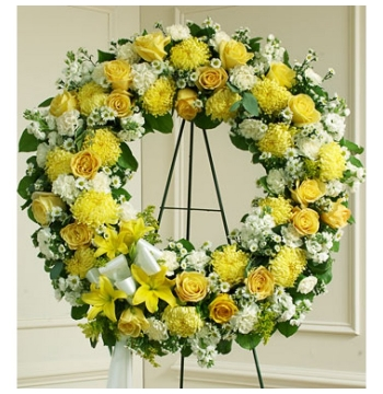 Bright Beauty Wreath Send to Manila Philippines