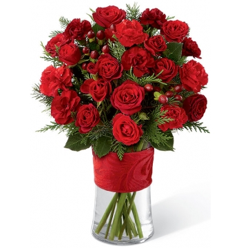 Spirit of the Season Bouquet Send to Manila