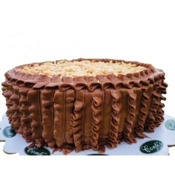 Almond Choco Sansrival by Contis Cake