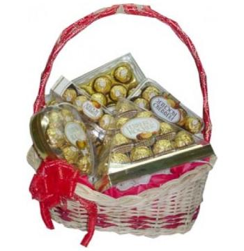 Ferrero Lover Basket Send to Manila Philippines