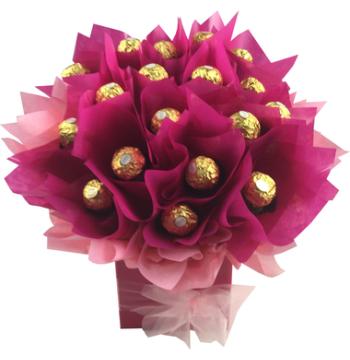 24pcs Ferrero Rocher in a Bouquet to Manila Philippines