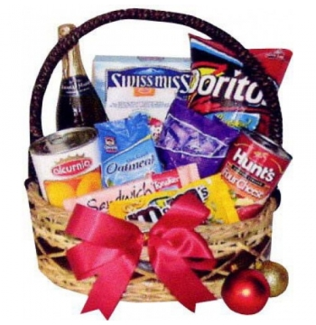 Christmas Bounty Basket Send to Manila