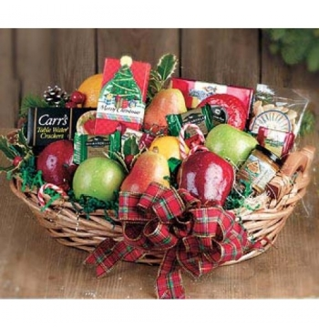 Christmas Fruits Basket Send to Manila