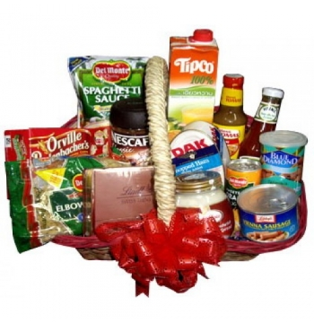 Xmas Gifts Basket Send to Manila