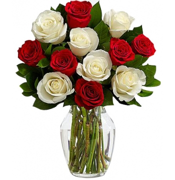 White Christmas Flowers Send to Manila