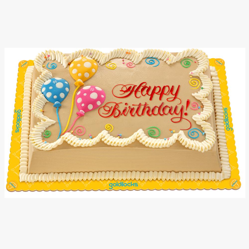 Cake Goldilocks Cake Mocha Chiffon Cake By Goldilocks