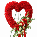heart online order to philippines,sympathy and funeral flower delivery to manila philippines,flower on stand send to manila, flower on stand to philippines