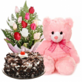 rose bear cake send to manila philippines,rose bear cake delivery to manila,rose bear cake online order to philippines,send rose bear cake in philippines,