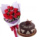 Send Father's Day Flower and Cake To Manila in the Philippines