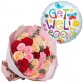 buy get well son balloon with roses bouquet manila