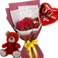 buy roses bear balloon in philippines