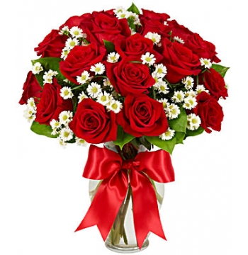 Luxury Two Dozen Red Roses Send to Manila Philippines