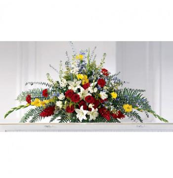 Angelic Sympathy Flower Arrangement Send to Manila Philippines