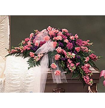 Funeral Casket Flowers Spray Arrangement Send to Manila Philippines