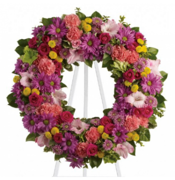 Bright Summery Wreath Send to Manila Philippines