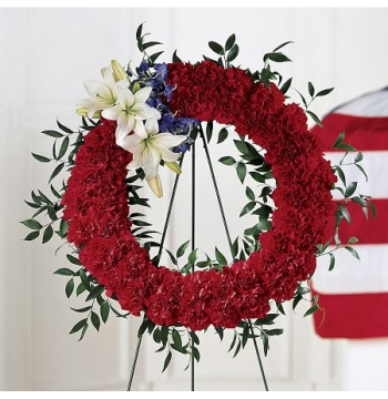To Honour One's Country Wreath Send to Manila Philippines