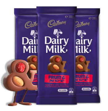 Cadbury Dairy Milk Fruit and Nut Delivery to Manila Philippines