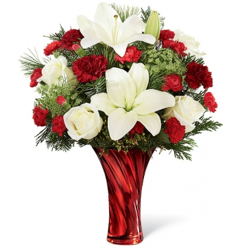 Christmas Celebrations Bouquet Send to Manila