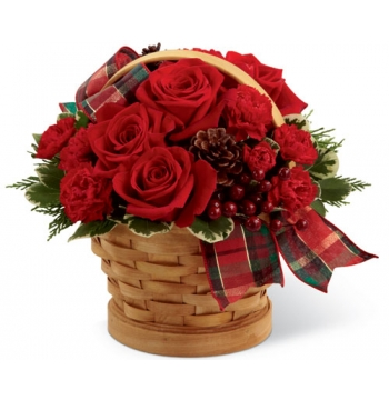 Joyous Holiday Bouquet Send to Manila