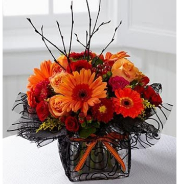 halloween spooktacular arrangement