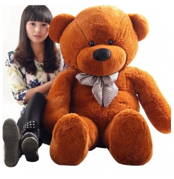 4 feet brown teddy bear