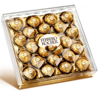 24 pcs Ferrero Rocher Chocolates Send to Manila Philippines