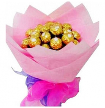 12pcs Ferrero Rocher in Bouquet to Manila