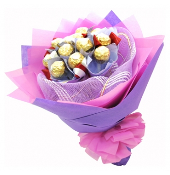 12pcs Ferrero Rocher in Bouquet manila in pphilippines