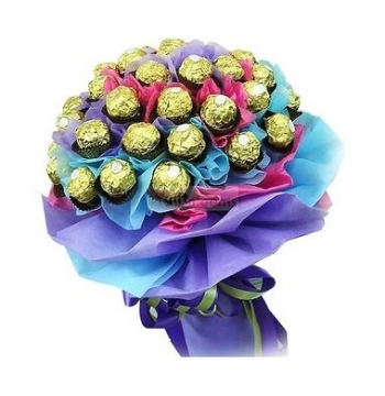 24pcs Ferrero Rocher in a Bouquet to Manila