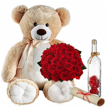 send roses teddy in manila