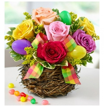 buy easter day flowers basket manila