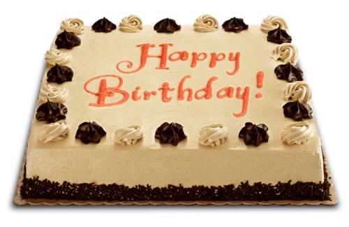 Mocha Dedication Cake By Red Ribbon 13