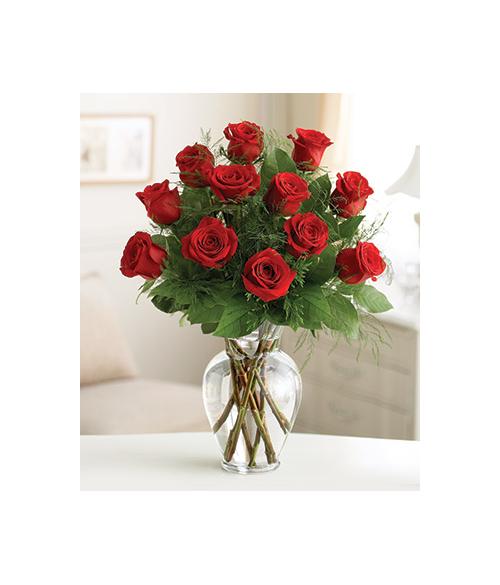 Premium Dozen Red Roses Send to Manila Philippines